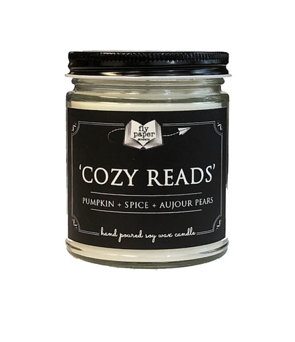 Cozy Reads- 9oz Handpoured Soy Candle - BACK IN STOCK 12/18/20