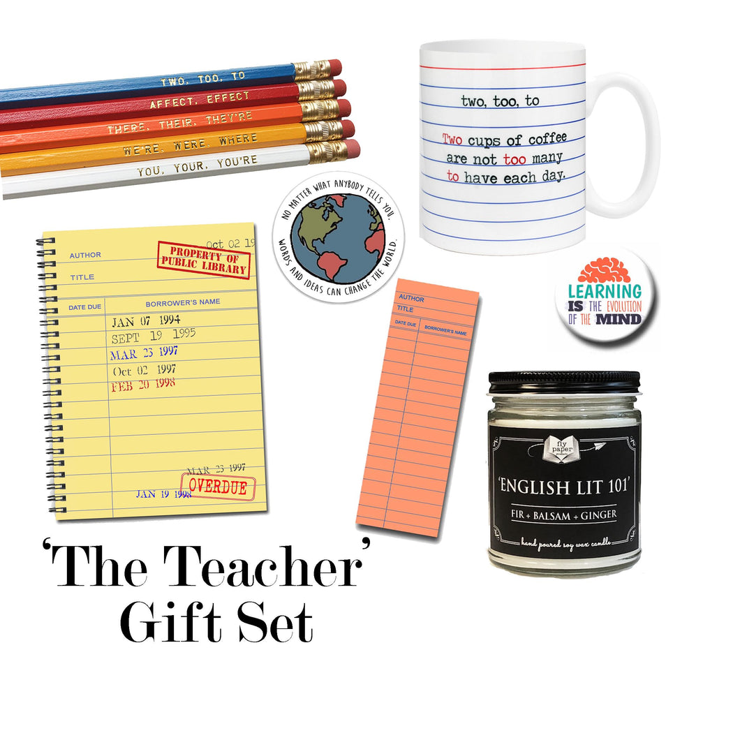The Teacher Boxed Gift Set