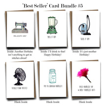 Load image into Gallery viewer, Greeting Card Bundle #5 - Set of 6 Assorted Bestselling Cards