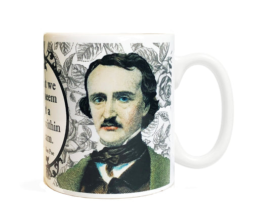 Edgar Allan Poe 11 oz Ceramic Mug