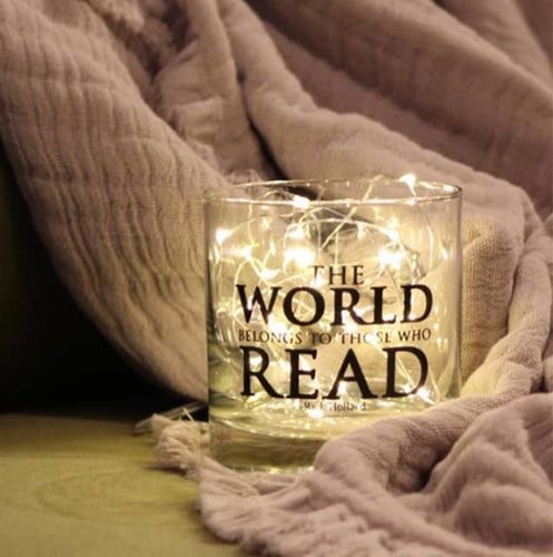 The World belongs to those who Read- 11oz Glass Tumbler