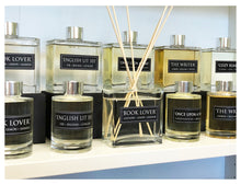 Load image into Gallery viewer, The Library - 4oz Reed Diffuser Set- Eucalyptus + Lavender + Old Books