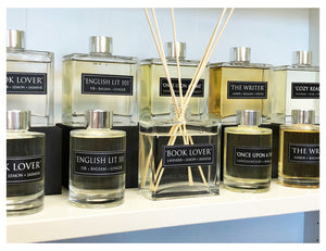 English Lit 101 - 7oz Reed Diffuser Set - Fir + Balsam + Ginger