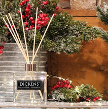 Load image into Gallery viewer, Limited Edition Dickens Holiday Scent Reed Diffuser Pine + Balsam + Cardamom