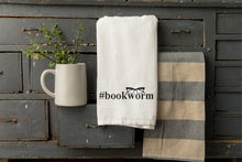 Load image into Gallery viewer, Bookworm Tea Towel