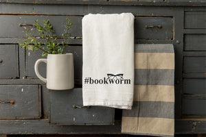 Bookworm Tea Towel