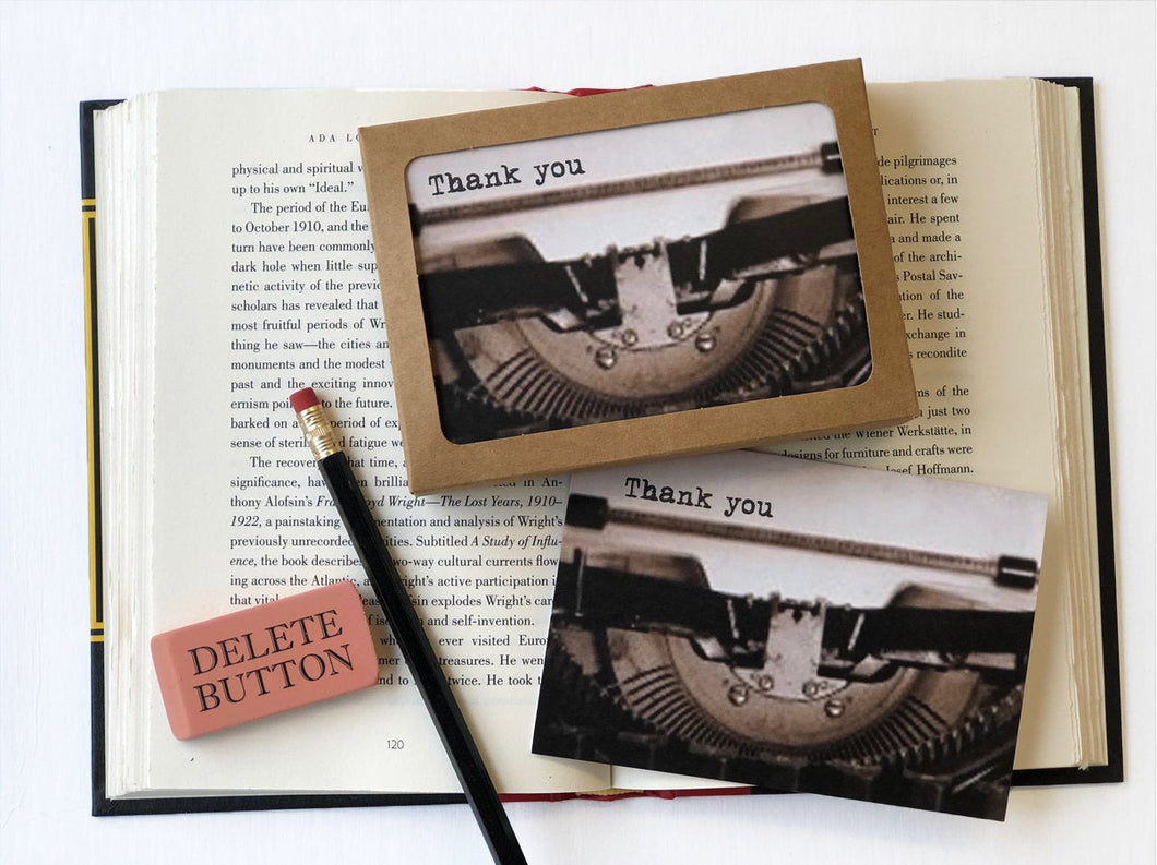 Thank You- Boxed Thank You Cards