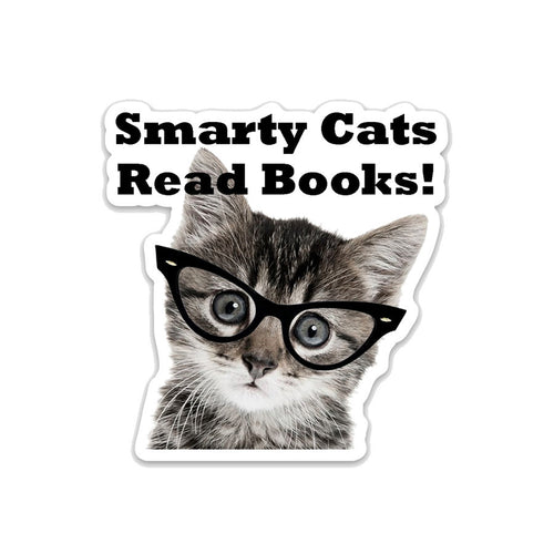 Smarty Cats Read Books!- 3