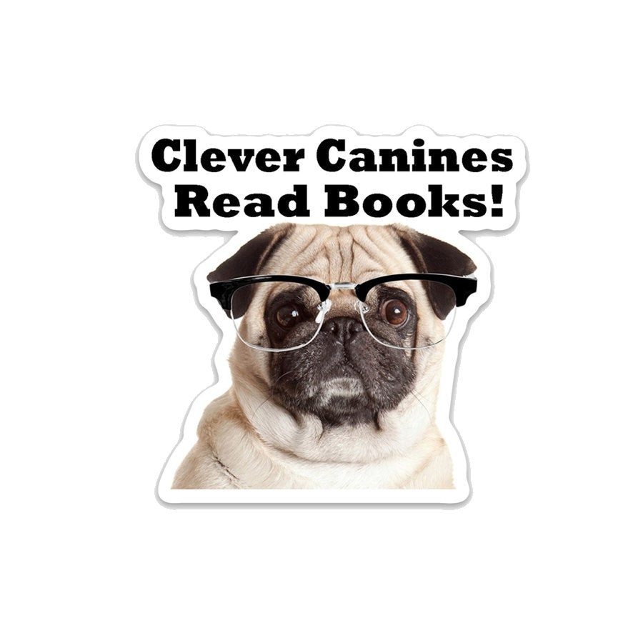 Clever Canines Read Books- 3