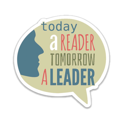 Today a Reader Tomorrow a Leader- 3