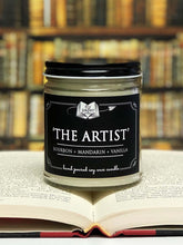 Load image into Gallery viewer, The Artist - 9oz Handpoured Soy Candle
