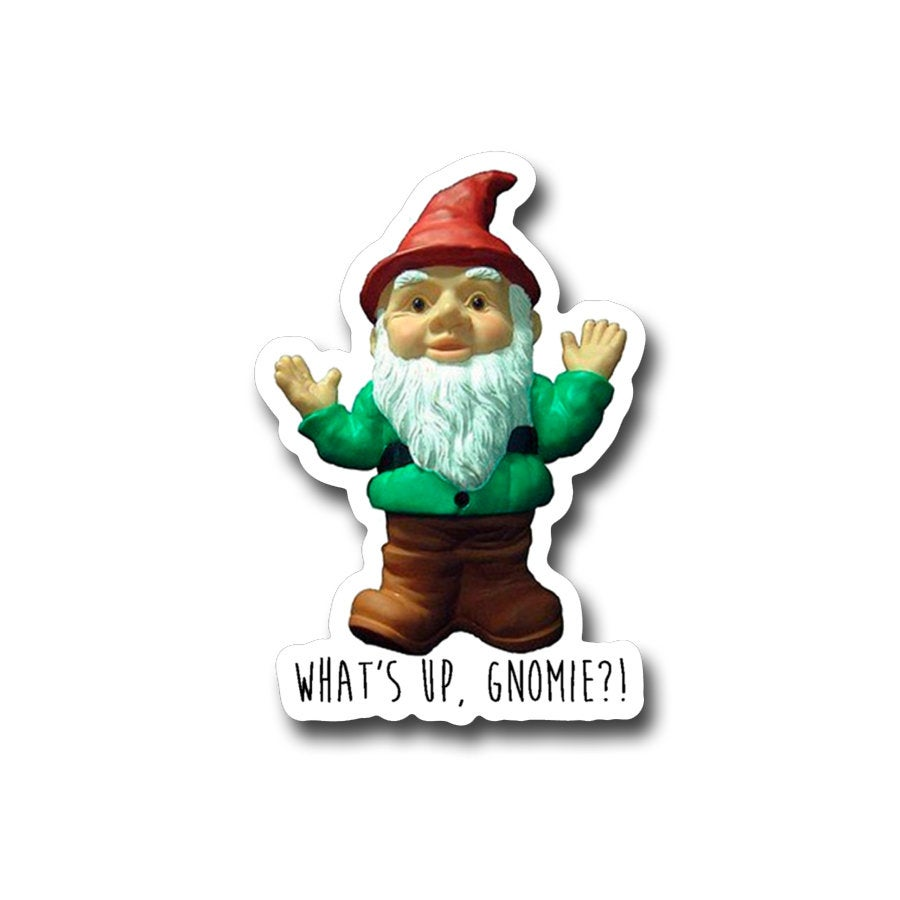 What's up Gnomie-  3
