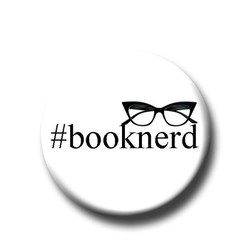Booknerd  - Pin Back Button