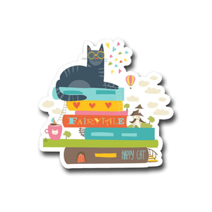 The Ultimate Cats, Coffee & Books Gift Set