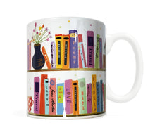 Load image into Gallery viewer, Book Shelf- 11 ounce Ceramic Mug