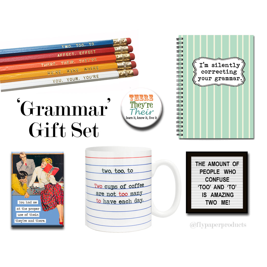 The Ultimate Grammar Geek Gift Set