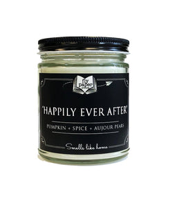 Happily Ever After- 9oz Soy Candle - Pumpkin + Spice + Aujour Pears