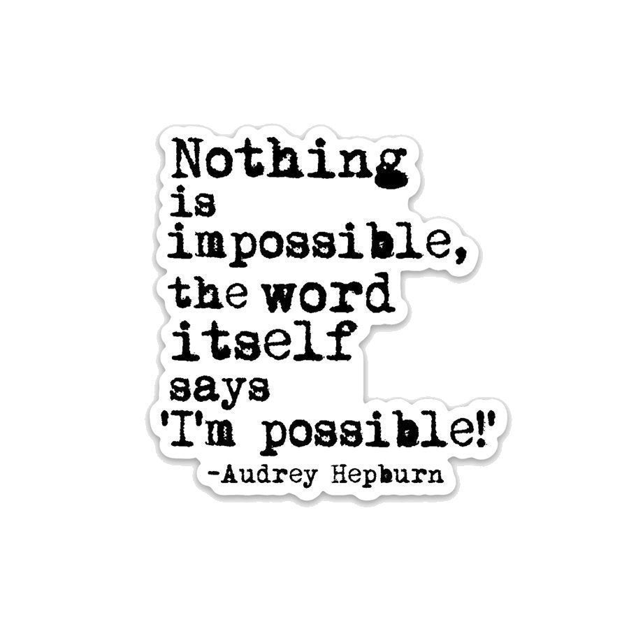 Nothing is Impossible- 3
