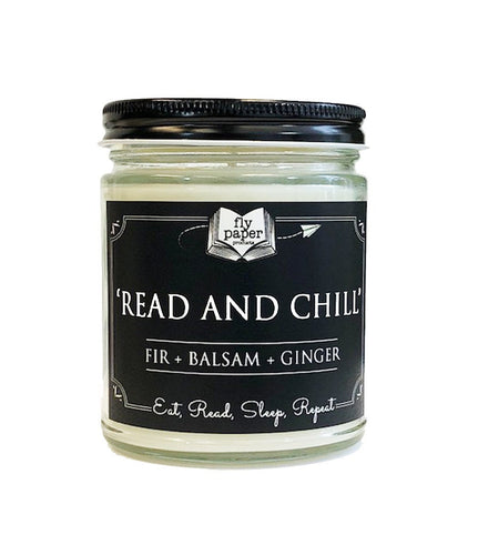 Read and Chill - 9oz Handpoured Soy Candle