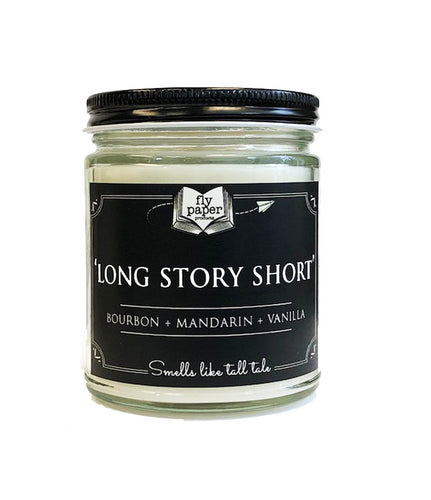 Long Story Short- 9oz Handpoured Soy Candle
