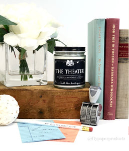 The Theater- 9oz Hand Poured Soy Candle