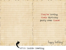 Load image into Gallery viewer, They're, their, there. Grammar themed birthday card.