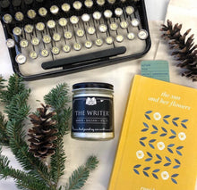 Load image into Gallery viewer, The Writer 9oz Soy Candle - Amber + Balsam + Spice