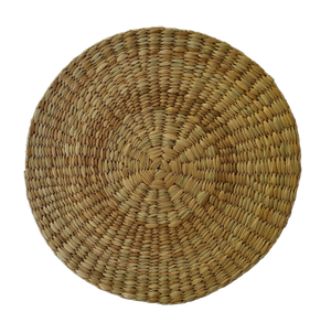 NEREY Seagrass Round Placemat / Trivet / Coaster Natural