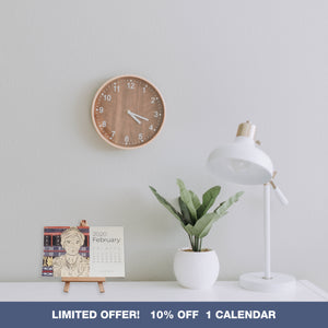 PRE-ORDER:  2020 RADA COLLAB DESK ART CALENDAR - SINGLE PACK