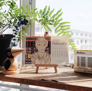 IN-STOCK:  2020 RADA COLLAB DESK ART CALENDAR - SINGLE PACK