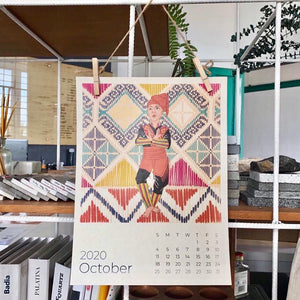 IN-STOCK:  2020 RADA COLLAB WALL ART CALENDAR - SINGLE PACK