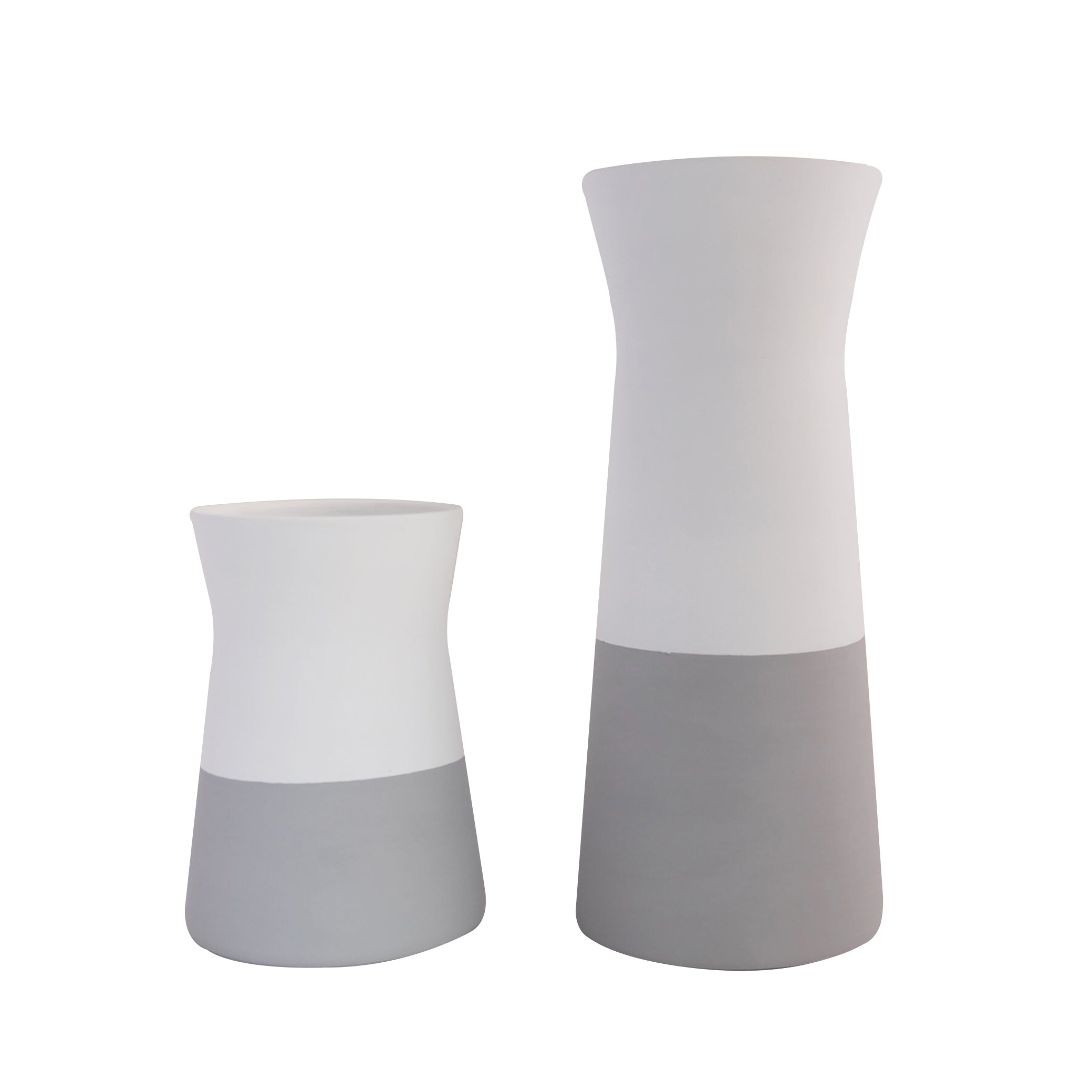Nordic Vessels Color Block White-Gray