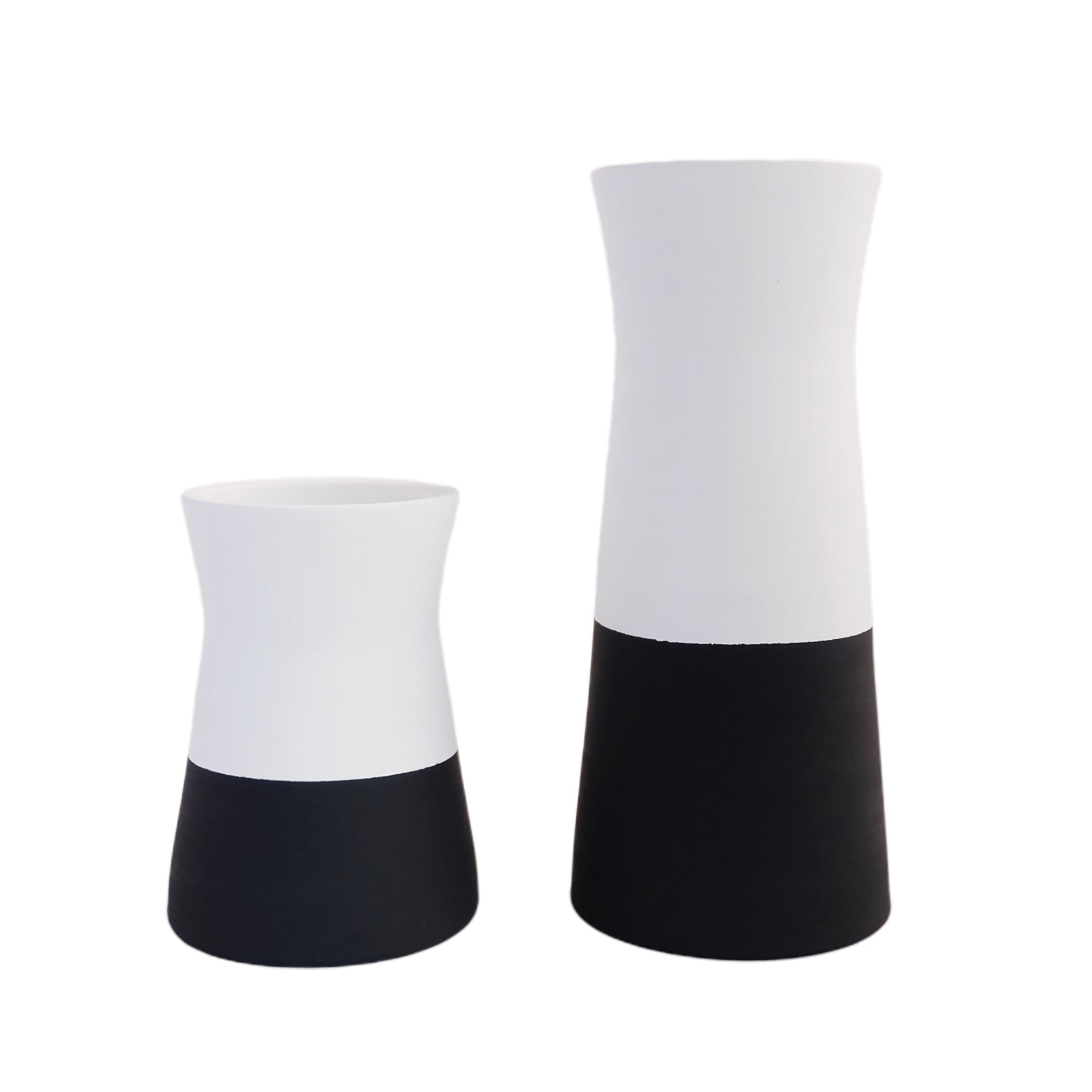TIWI CERAMICS Nordic Vessel White-Black