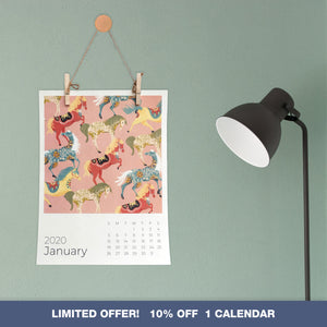 PRE-ORDER:  2020 RADA COLLAB WALL ART CALENDAR - SINGLE PACK