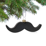 Mustache Christmas Ornament
