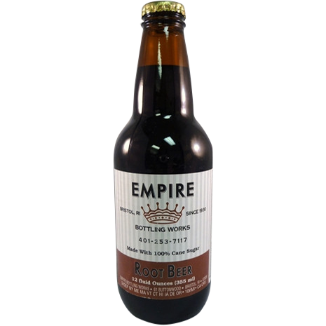 Empire Root Beer Glass Bottle