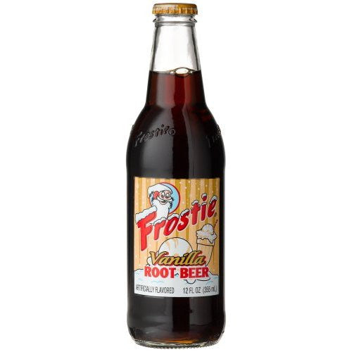 Frostie Vanilla Root Beer Glass Bottle