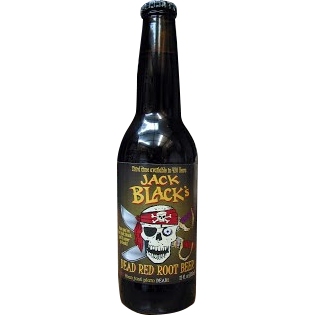 Jack Black's Root Beer Glass Bottle