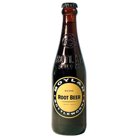 Boylan Root Beer Glass Bottle