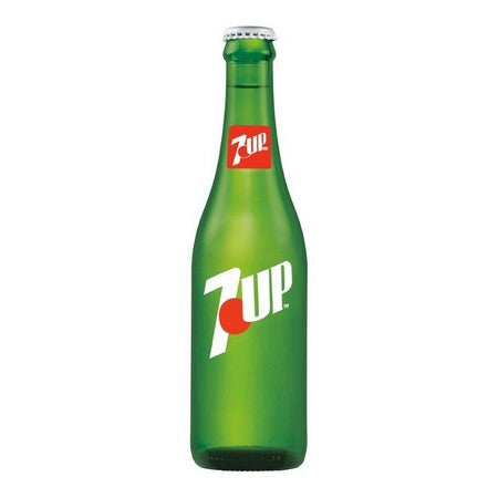 7 Up Real Cane Sugar Glass Bottle