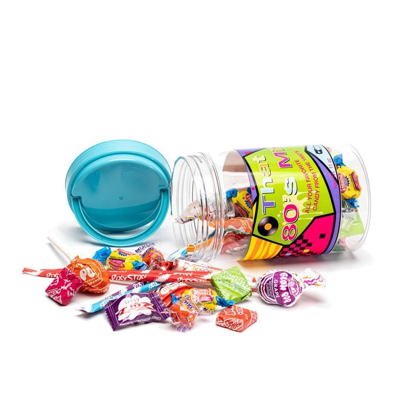 80's Decade Retro Candy Jar