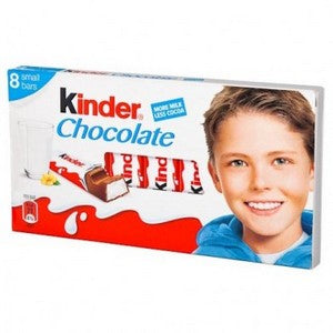 Kinder 8 pc milk chocolate bars