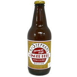 AJ Stephans Glass Bottled Ginger Beer