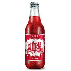 ALE 8 CHERRY GLASS BOTTLE SODA