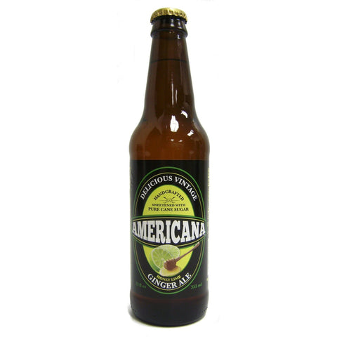 Americana Honey Lime Ginger Ale
