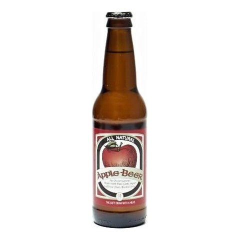 Apple Beer Glass Bottled Soda
