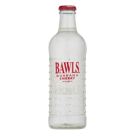 Bawls Glass Bottle Cherry Guarana Energy Drink