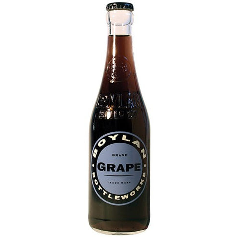 Boylan Grape Soda Glass Bottle