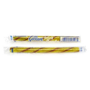Butterscotch flavored candy sticks