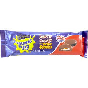 Cadbury Creme Egg Cookie